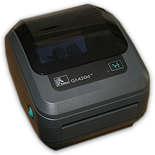 Zebra GX420D Direct Thermal Barcode Shipping Label Printer USB Refurbished