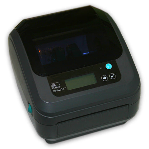 Zebra GX420D Bluetooth UPS Shipping Label Printer REFURB