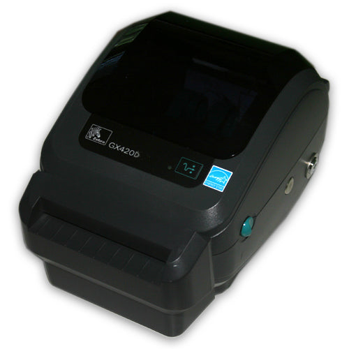 Zebra GX420D Thermal Barcode Label Printer with Cutter Ethernet GX 420D