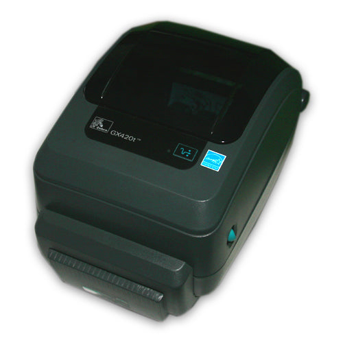 Zebra GX420T Thermal Transfer Barcode Shipping Label Printer with Cutter  Ethernet