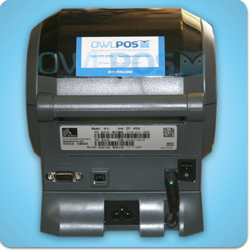 Zebra ZP 500 Plus FedEx Manager Shipping Label Barcode
