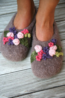 Pattern-Mabel Felted Slippers