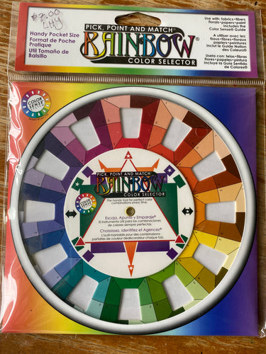 Color Wheel, Pick, point, and match color selector.