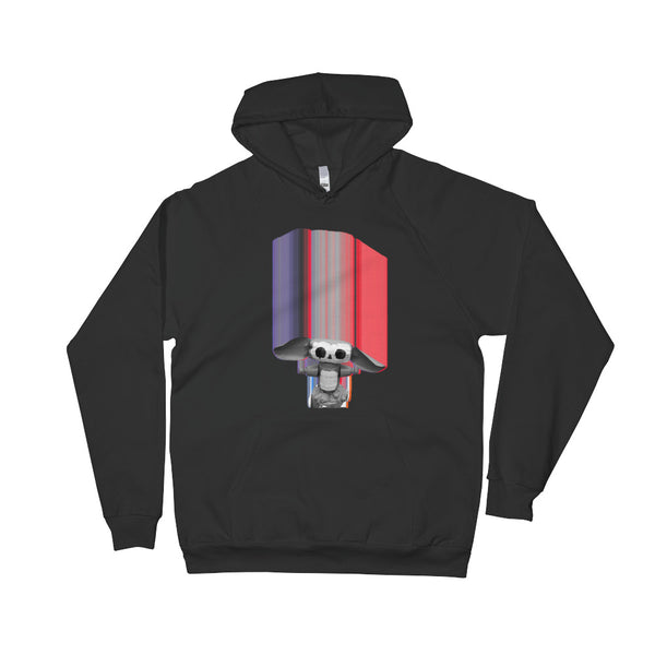 Glitchy Chebe Unisex Pullover Hoodie - Valuli Necklace