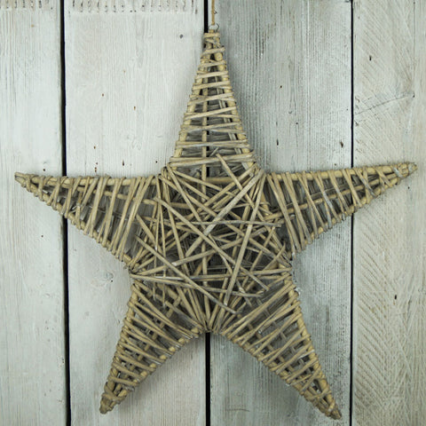 Set of 2 Willow Stars
