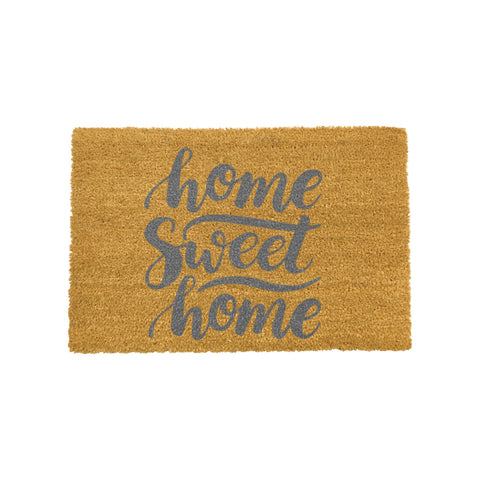Home Sweet Home Doormat- Grey