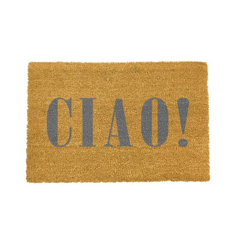 CIAO Grey Doormat