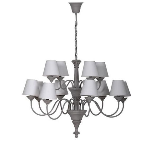 Davenport Grey Chandelier