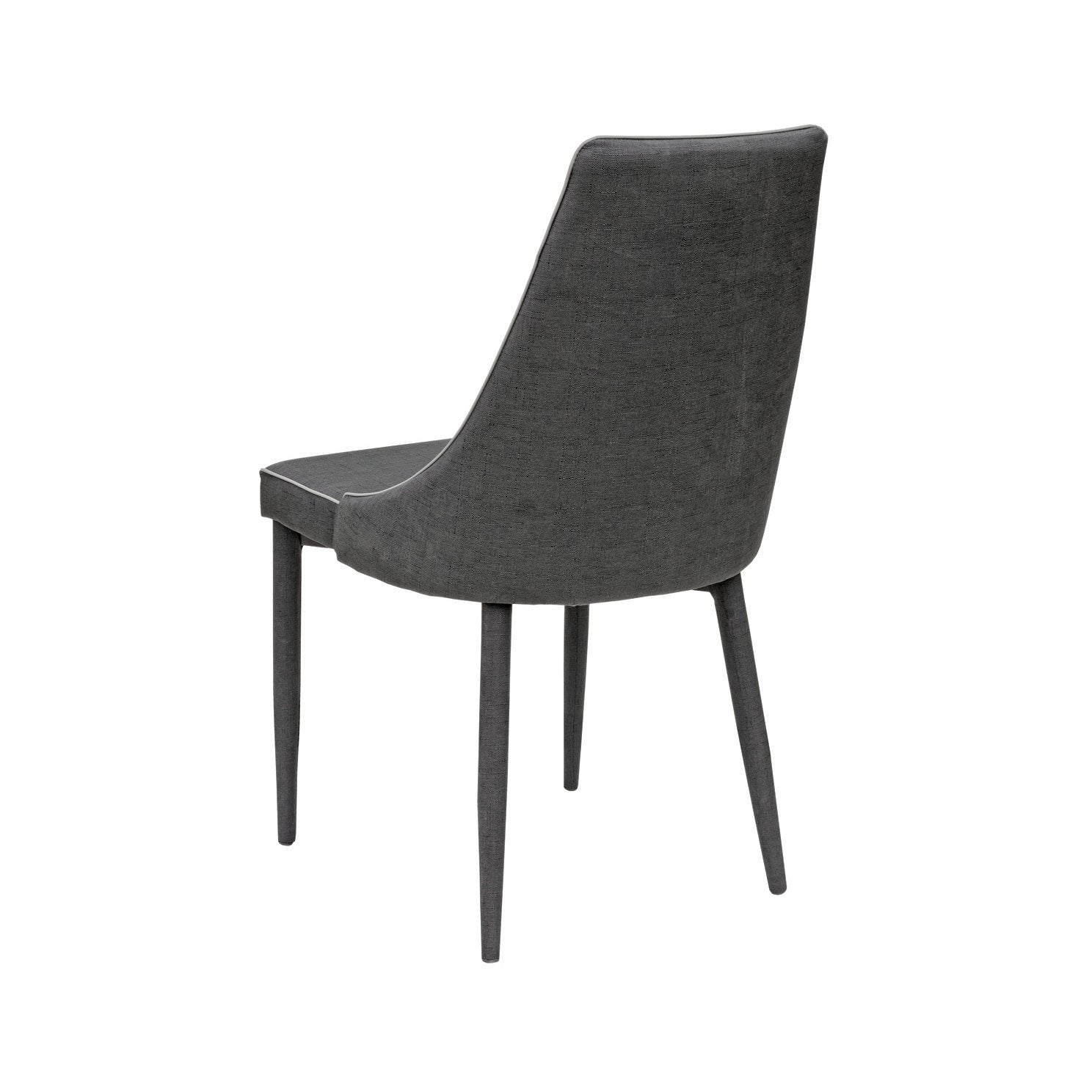 Dark Grey Dining Chair