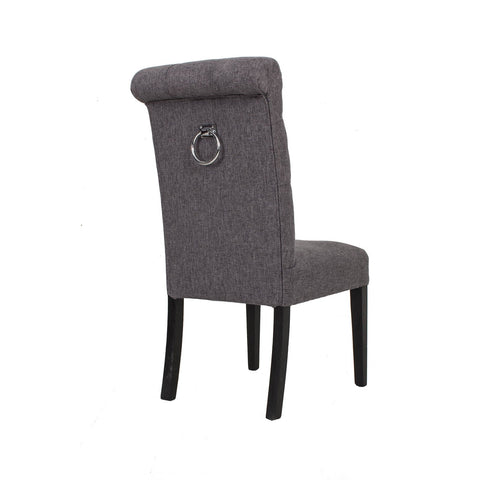 Jemima Knocker Dining Chair- Grey