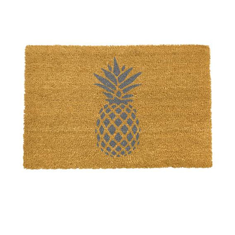 Pineapple Grey Doormat