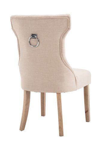 Kiely Knocker Back Chair- Natural