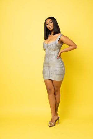 Pricey Bandage Mini Dress