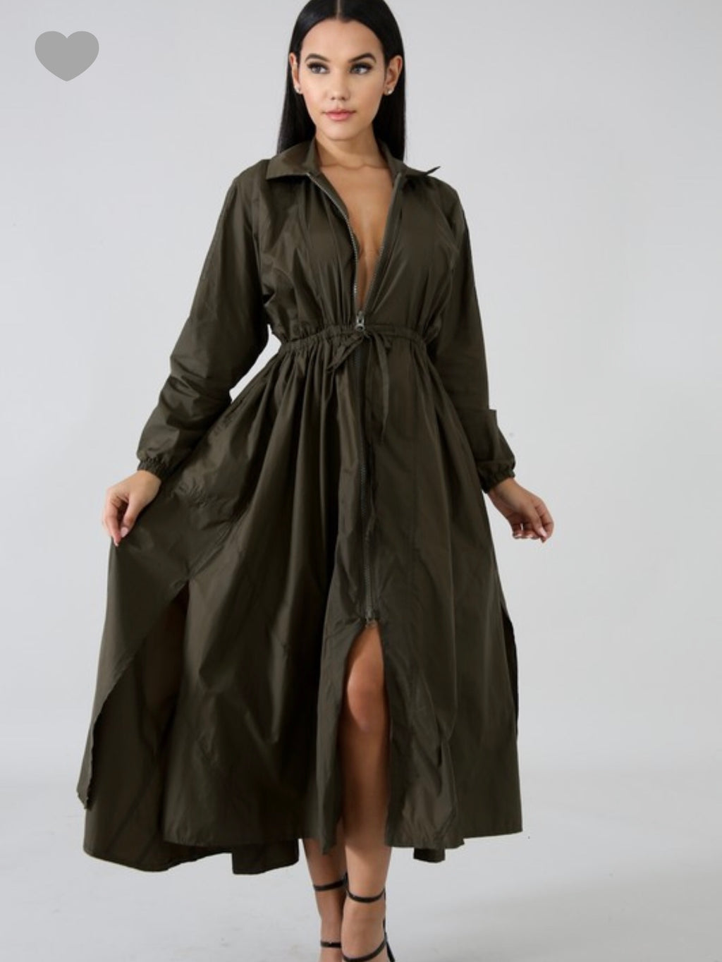 Trendy Trench Dress