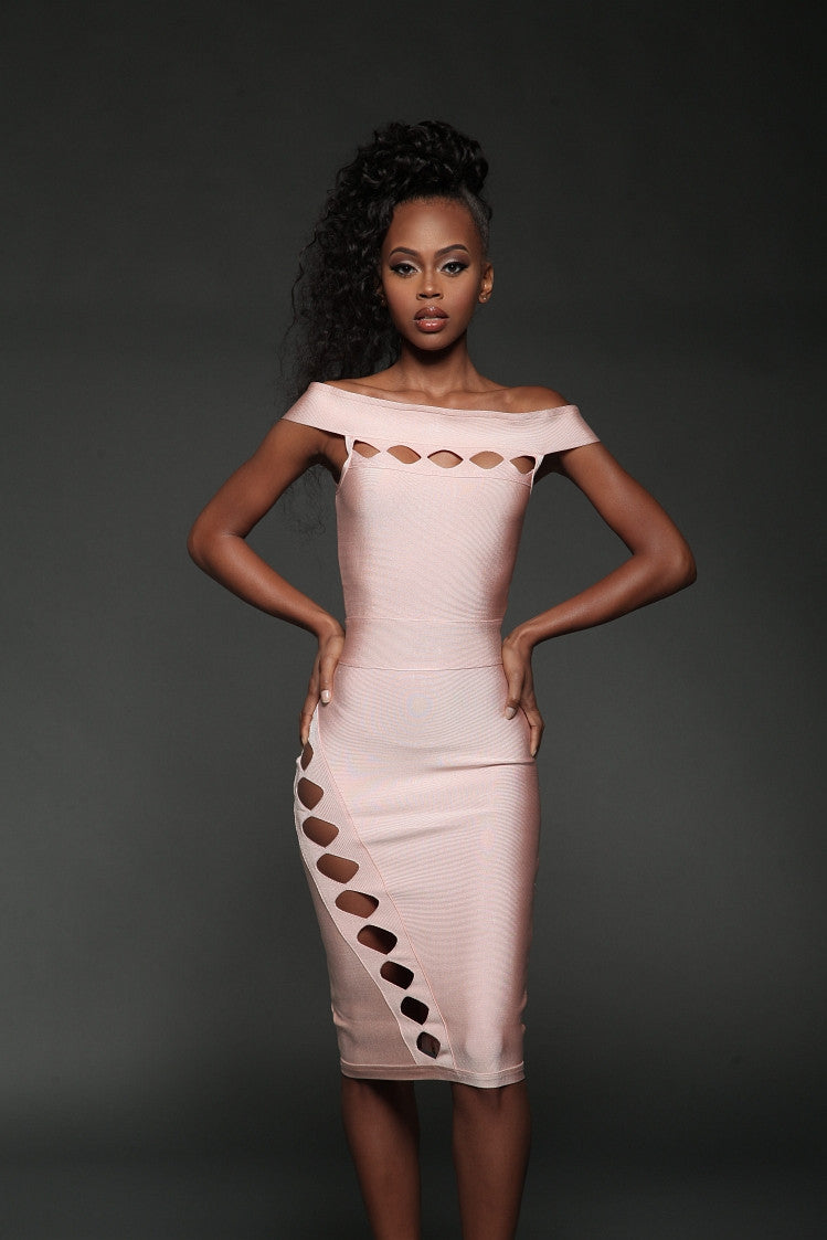 Aleece Bandage Dress