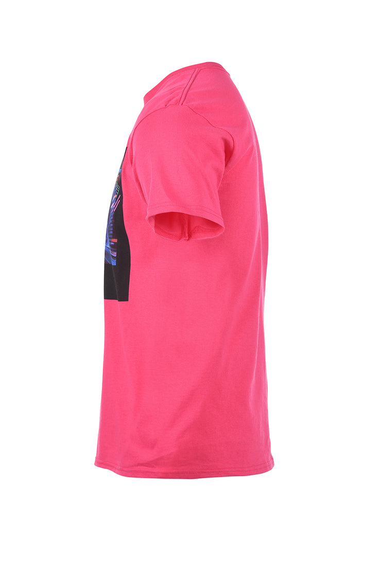 Space Coupe Tee - Fuschia