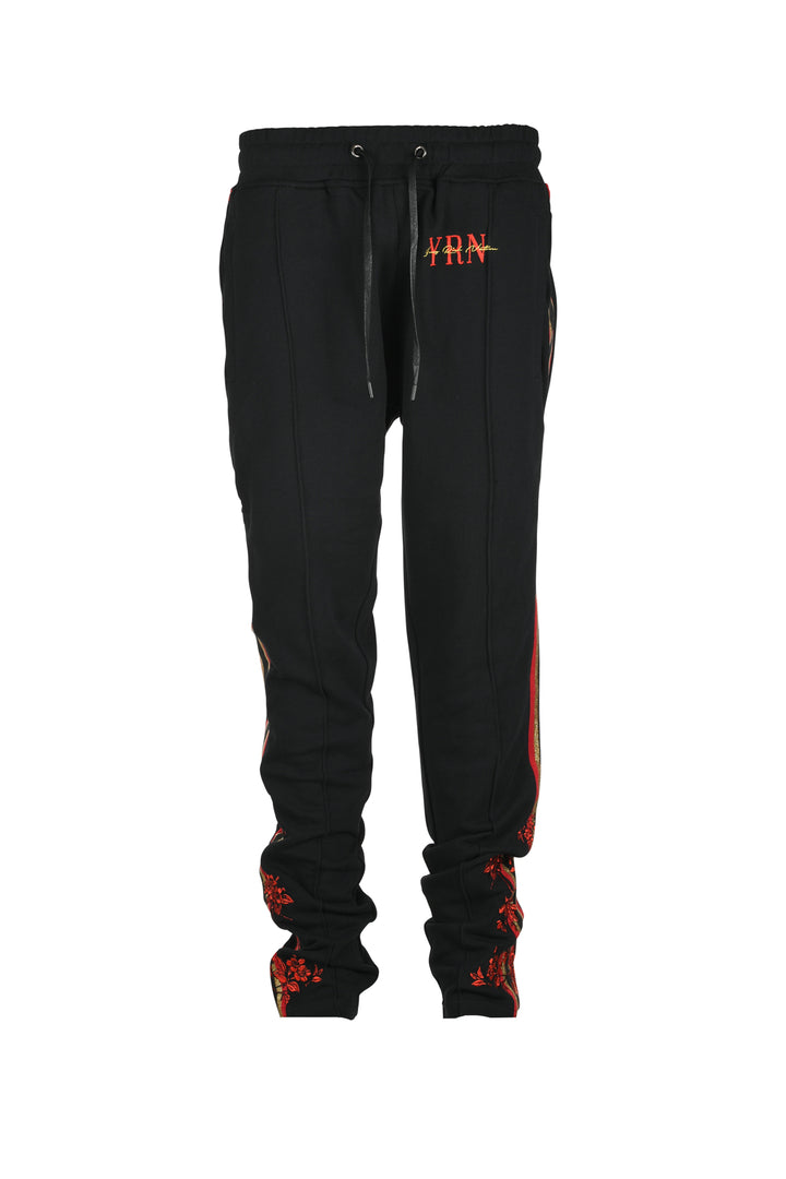 Rack Suit Sweatpants - Black