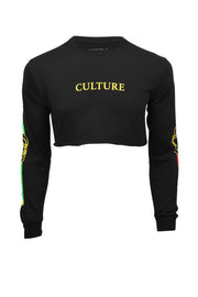 Women's Boujee Cropped Long Sleeve