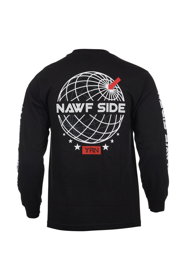 migos NAWF Side Long Sleeve Tee