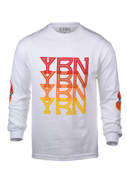 Pixel Flame Long Sleeve