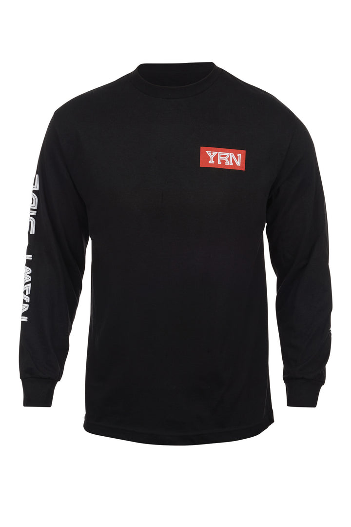 NAWF Side Long Sleeve Tee- Black