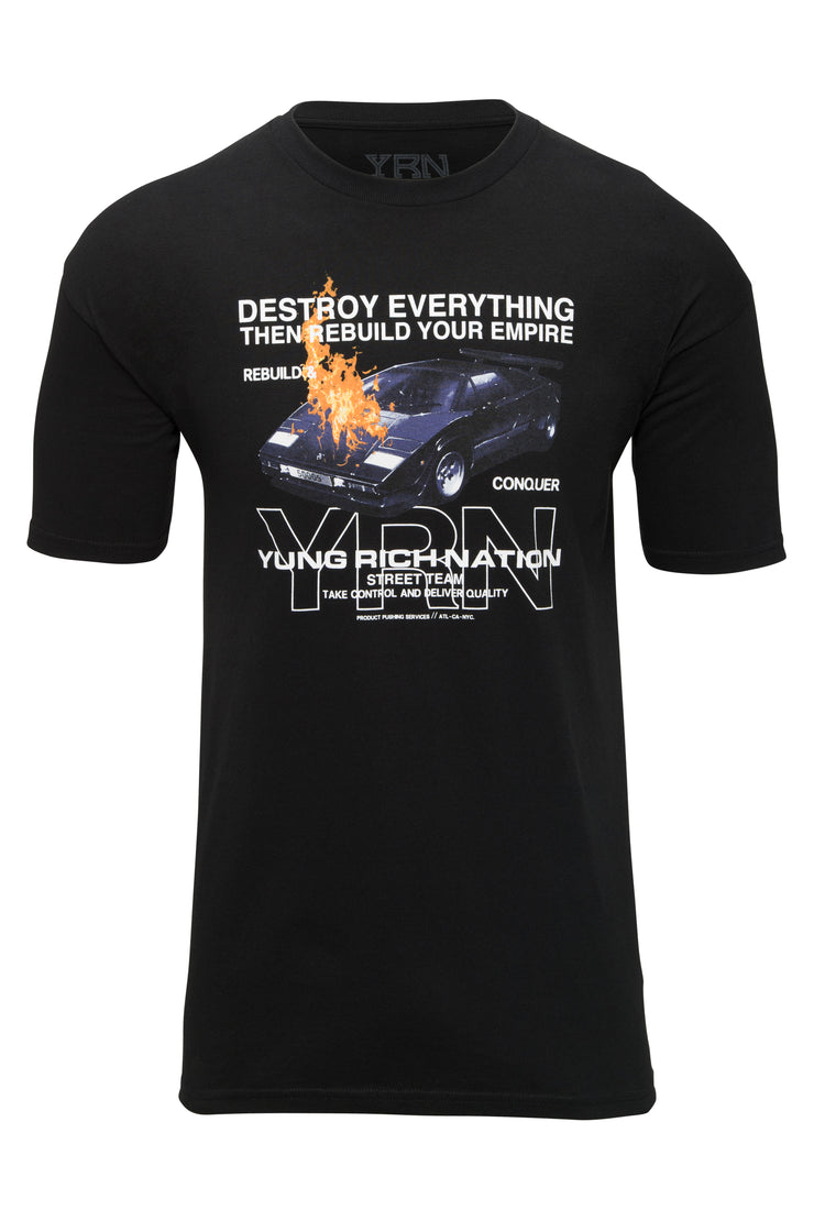Destruction Tee - Black