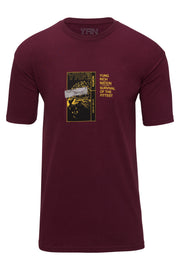 Survival Tee - Burgundy