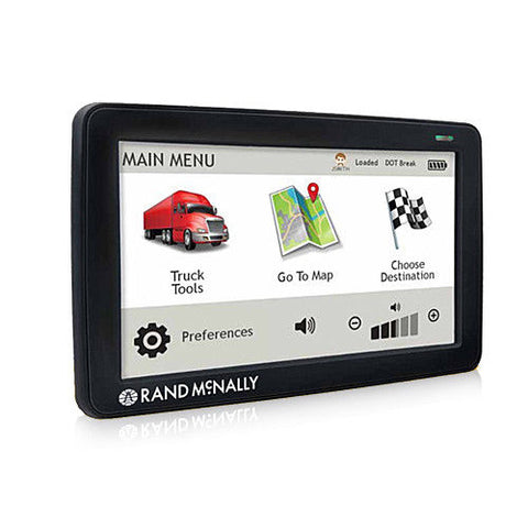 Rand McNally TND530 Truck GPS with Lifetime Maps and Wi-Fi - Audiovideodirect