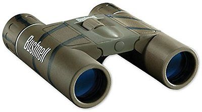 Bushnell 132517c Powerview 10x25mm Compact Folding Roof Prism Camo Binocular Camouflage - Audiovideodirect