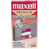 Maxell 290038 Video Head Cleaner with Clean tape heads & path - Audiovideodirect