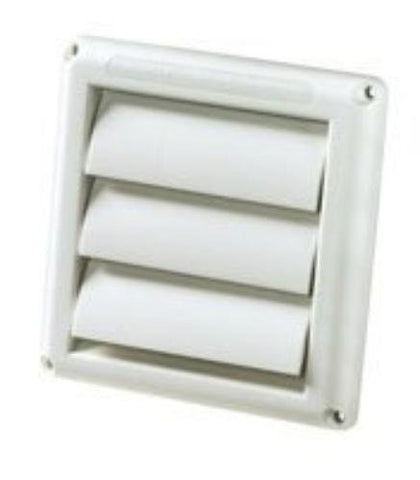 "4"" WHITE SUPURR VENT HOOD - Audiovideodirect"