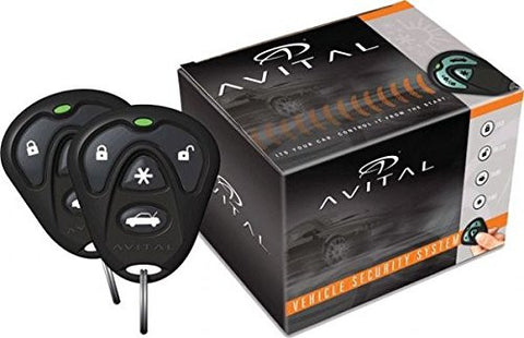 Directed Electronics Avital 4103LX Remote Start System with 2 4-Button Remote - Audiovideodirect