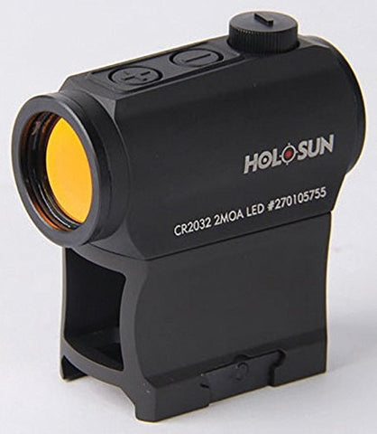 HOLOSUN HS403A Micro Red Dot Fully Waterproof High quality Clear Lens Sight - Audiovideodirect