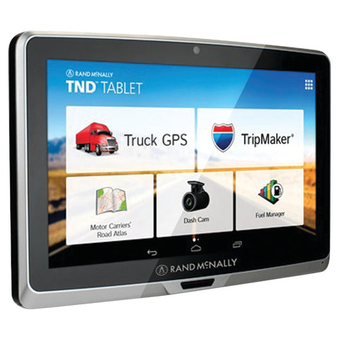Rand Mcnally 7 inch Display Touch Screen Tablet with GPS and Dashcam TND7TAB - Audiovideodirect