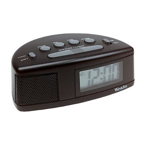 Westclox Tech 47547 Super Loud Alarm Clock 90dB New - Audiovideodirect