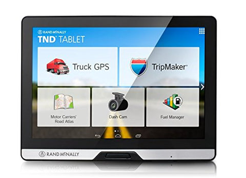"Rand McNally 8"" Tablet Truck GPS and Android Tablet Combo with Built-in Dash Cam - Audiovideodirect"