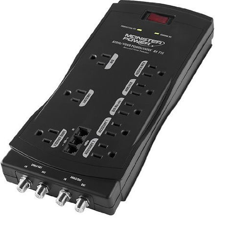 Monster Cable MP AV 725 Power AV 725 8-Outlet Surge Protector - Audiovideodirect