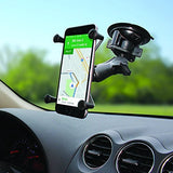 Ram Mount Twist Lock Suction Cup Mount with Universal X-Grip Cell Phone Holder - Audiovideodirect