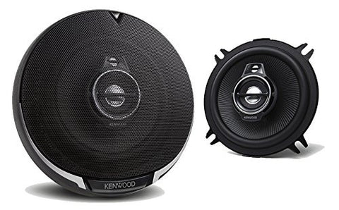 "Kenwood KFC1395PS 5.25"" Black 320 Watt 3-Way Car Audio Coaxial Speakers Stereo - Audiovideodirect"