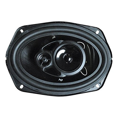 Audiopipe CSL6903 6X9inches 3 Way Rubber Edge Injection Cone 400 Watt Speaker - Audiovideodirect