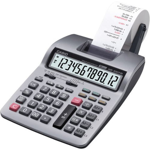 Casio Inc. HR-100TM Business Calculator - Audiovideodirect