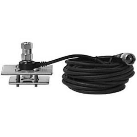 Firestik MK294R Black Fire Flex Stake Hole Mount With Cable Mini Antenna Kit - Audiovideodirect