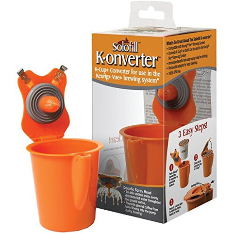 SOLOFILL - Solofill K-onverter Cup (pack of 1 Ea) - Audiovideodirect