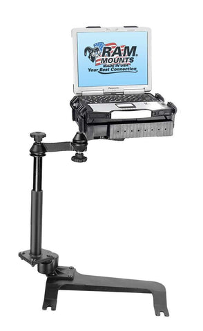 RAM Mounting Systems RAM-VB-159-SW1 No-Drill Vehicle Laptop Computer Mount - Audiovideodirect