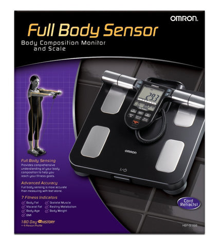 Omron Body Composition Monitor with Scale - 7 Fitness Indicators & 180-Day Memory - Audiovideodirect