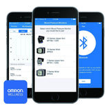 Omron 10 Series Wireless Upper Arm Blood Pressure Monitor with Cuff that fits Standard and Large Arms (BP786N) with Bluetooth Smart Connectivity - Audiovideodirect