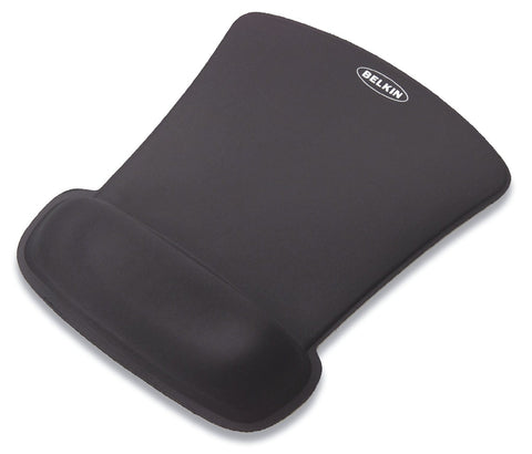 Belkin WaveRest Gel Mouse Pad Black - Audiovideodirect