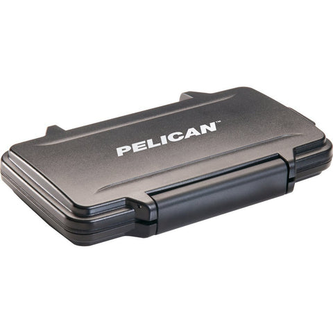 Pelican 0910-015-110 Black Water Resistant SD Memory Card Protective Case - Audiovideodirect