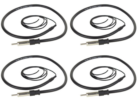 "BOSS Audio MRANT10 45"" Dipole Marine Audio Hideaway Flexible Antenna - Audiovideodirect"
