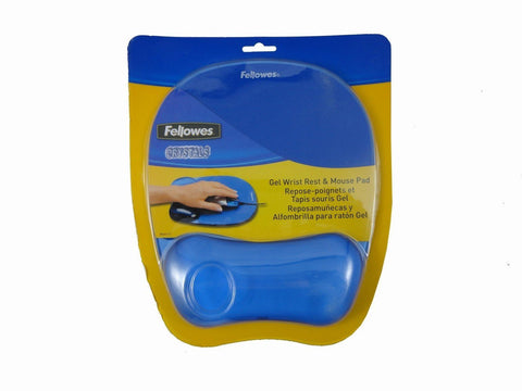 Fellowes Gel Crystal Mousepad - Audiovideodirect